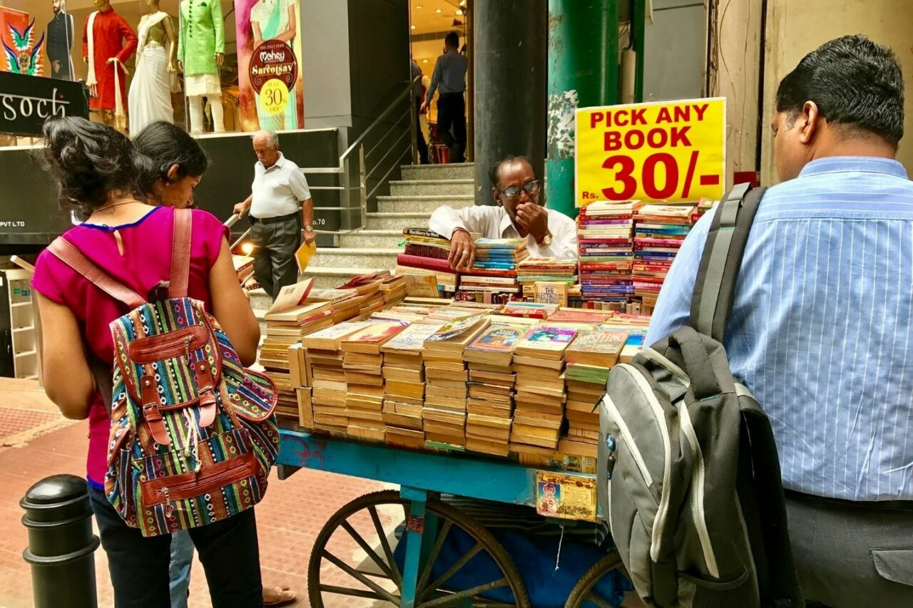 Book Shopping at MG Road Bengaluru - Things to do in Bangalore Alone
