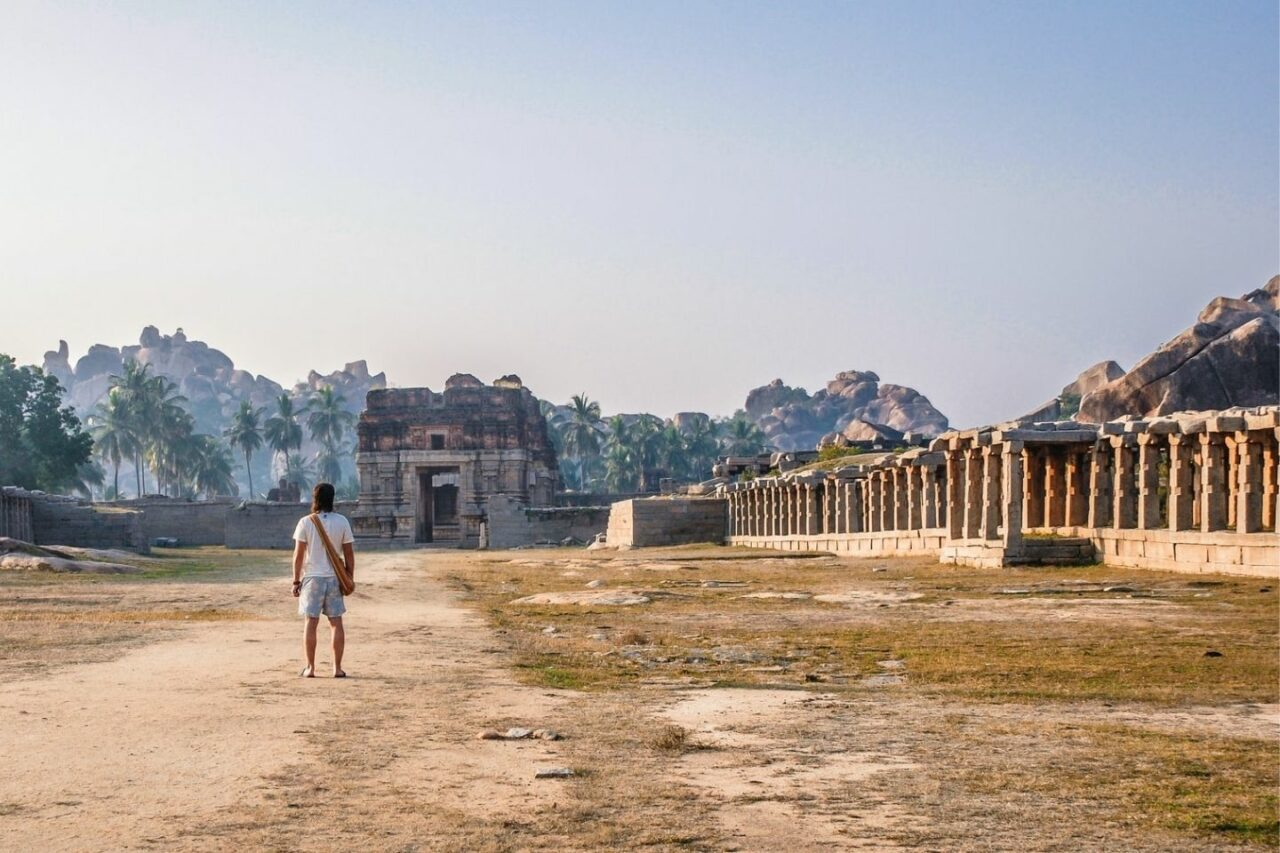Hampi Tourist Place in South India